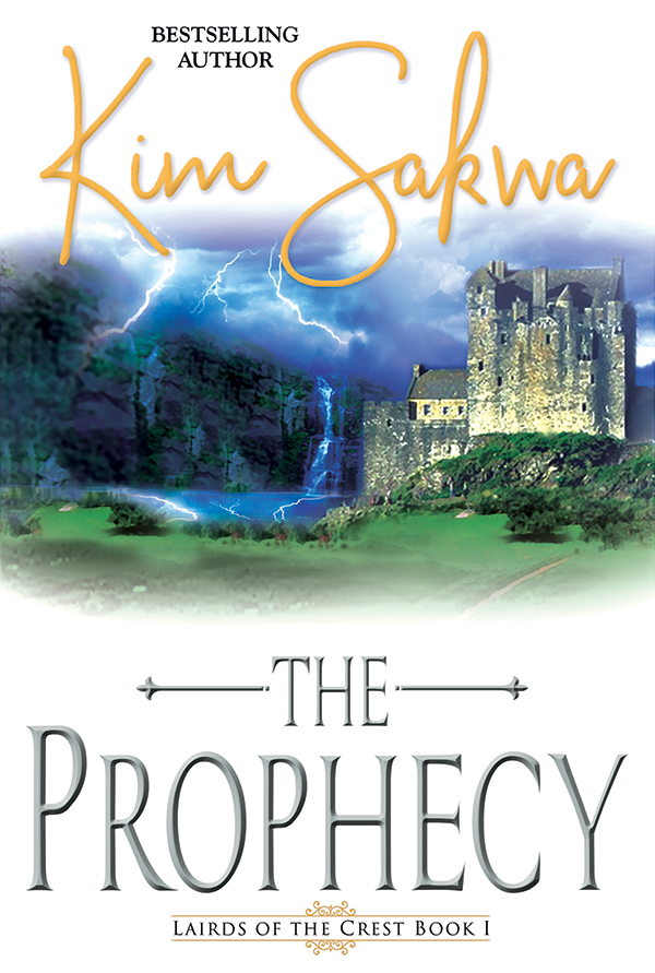 The Prophecy by Kim Sakwa Book Cover