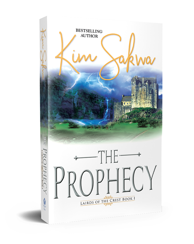 The Prophecy by Kim Sakwa 3D Book Cover-web